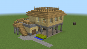 survival starter houses