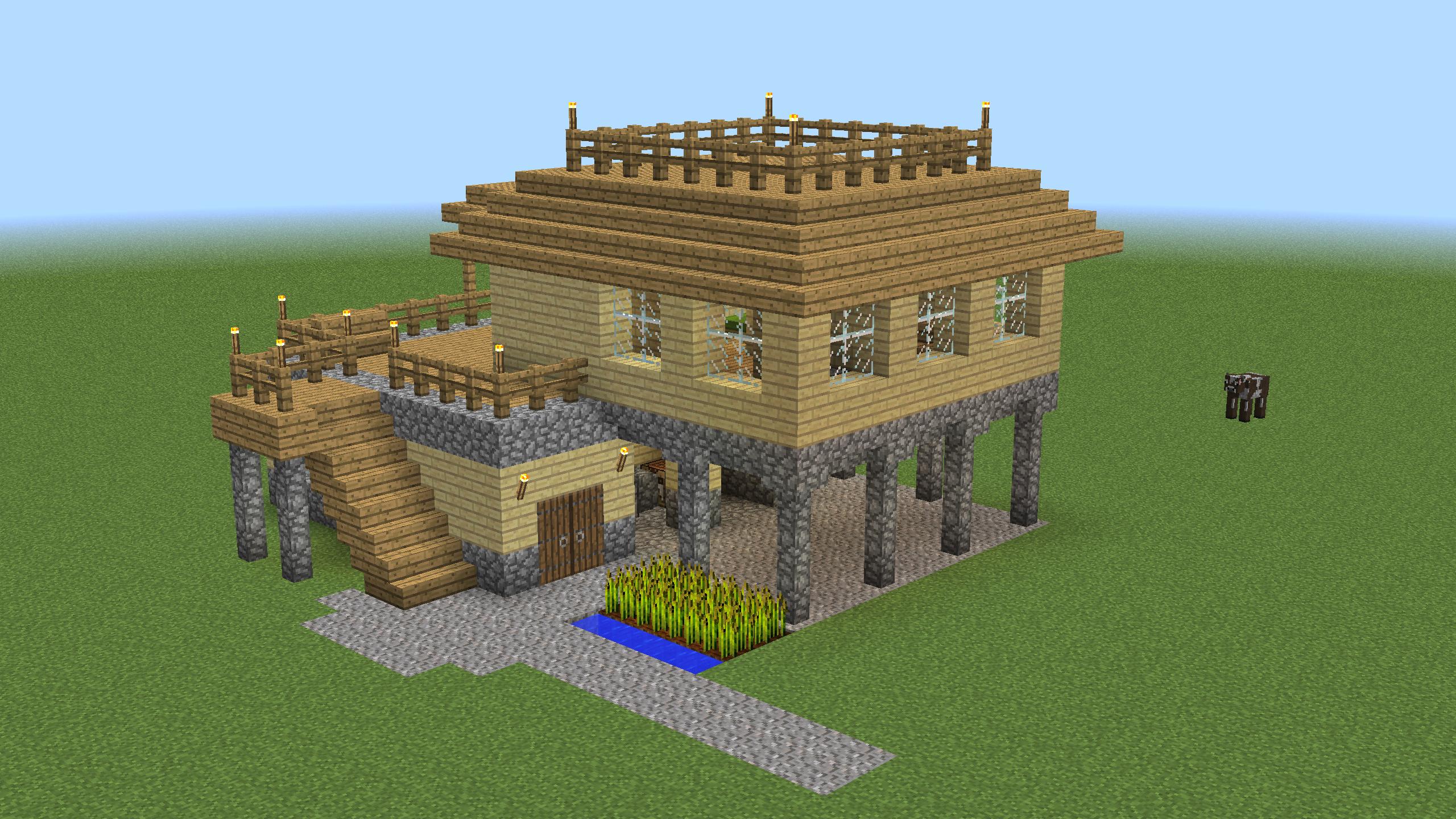 survival starter houses
